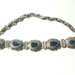 NWOT 925 Sterling Silver handmade bracelet